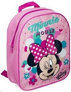 Cartable Maternelle Fille Minnie YUESEN Petit Sac /À Dos avec Personnage Minnie Mouse en Relief Sac Ecole Grande Section Maternelle Cr/èche Nounou Garderie Primaire